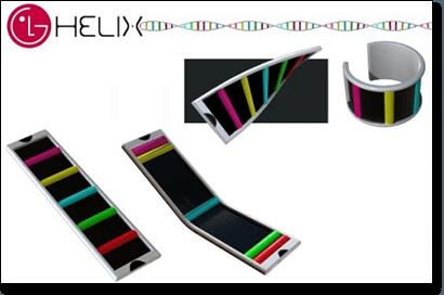 LG Helix bracelet gambling