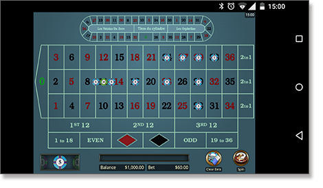 Play roulette on your mobile device for real money
