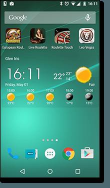 Create a mobile web app for casino games