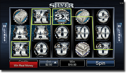 Sterling Silver online slots on iPhone and tablets
