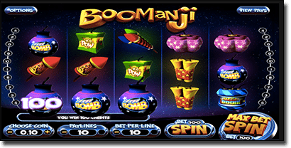 Boomanji 3D mobile slots by BetSoft