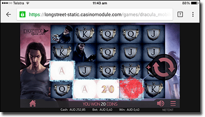 Dracula mobile slots for real money