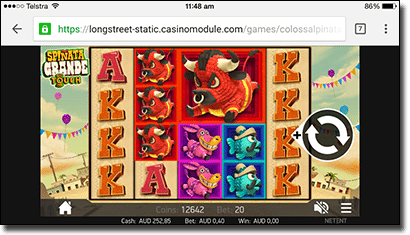 Spinata-Grande mobile slots for real money
