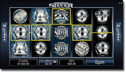 Sterling Silver 3D slots for mobile