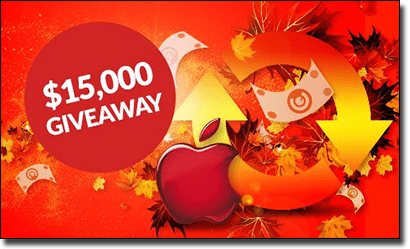 Guts Casino - Cash and Apple Watch giveaway in October