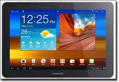 Samsung Galaxy Tab mobile casino sites