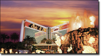 Mirage Casino in Las Vegas