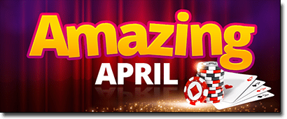 Amazing April at Roxy Palace Casino