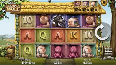 Big Bad Wolf mobile pokies by NetEnt
