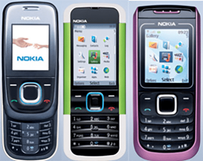 Old Nokia phones for mobile casino gambling