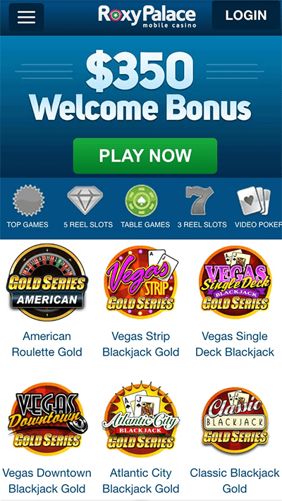 Roxy Palace - Leading Microgaming mobile casino site