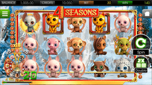 4 Seasons by BetSoft on mobile
