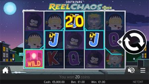 South Park: Reel Chaos NetEnt pokies on mobile