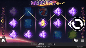 Starburst mobile pokies on Android and iPhone