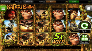 Safari Sam 3D mobile BetSoft pokies
